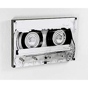 Schlüsselbrett Tape   Kassette   Musik   5 Haken   Vintage Tape   Hakenleiste   Flur   Aufbewahrung Schlüssel   Ordnung   Umzug   Geschenk