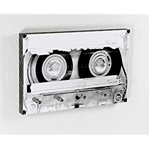 Schlüsselbrett Tape | Cooles Schlüsselboard mit Kassetten Motiv der 80er 90er | 5 Haken | Handmade