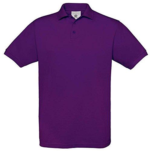 B&C CollectionHerren Poloshirt Violett - Violett