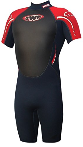 twf-mens-xt3-shortie-wetsuit-charcoal-red-3x-large