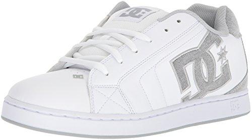 DC Shoes Men's Net SE Low Top Sneaker Shoes White Wht Lt Gry (WWL) 9.5