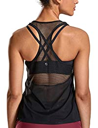 Amazon.fr   fitness - T-shirts et tops de sport   Sportswear   Vêtements c25d7f24648