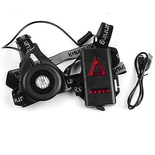 Peanutaoc 696 Outdoor-Sport-Lauflicht Taschenlampe wasserdicht Warnleuchten Chest Lampe US