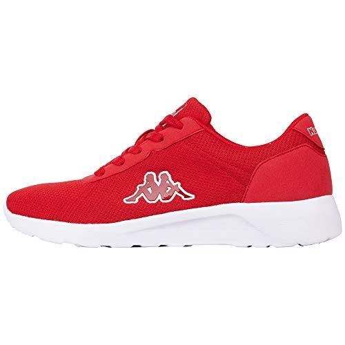 Kappa Herren Tunes Sneaker, Rot (Red 2020), 43 EU