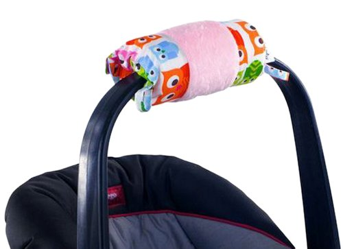 itzy-ritzy-wrap-and-roll-infant-carrier-arm-pad-and-tummy-mat-hoot