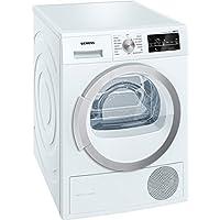 Siemens WT47W490FF Autonome Charge avant 9kg A++ Blanc sèche-linge - Sèche-linge (Autonome, Charge avant, Condensation, Blanc, Rotatif, 112 L)