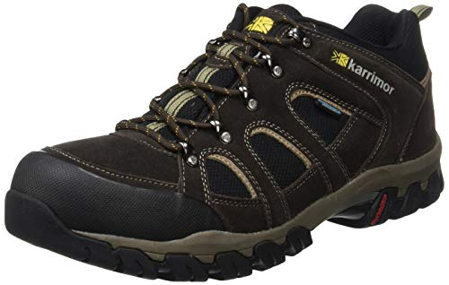 Karrimor Bodmin IV Weathertite, Men's Low Rise Hiking Shoes, Brown (Dark Brown), 7 UK (41 EU)