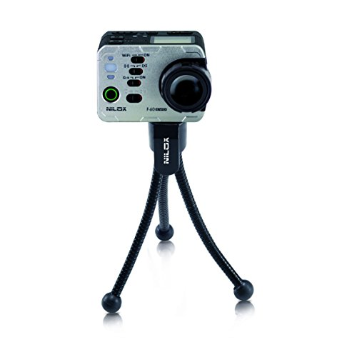 NILOX Stativ kompatibel mit Allen Nilox Action-Kameras