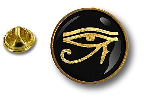 Akacha pin Button pins anstecker Anstecknade Biker Motorrad horusaute Horus ankh