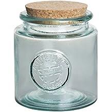Vidrios San Miguel- Tarro de vidrio reciclado redondo 1,5l.