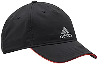 adidas Men's Cap (S20521_Black,Bright Red Solid Grey) (4055014708578)