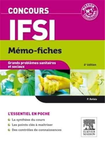 Concours IFSI Mémo-fiches Grands problèmes sanitaires et sociaux