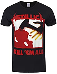 Metallica Kill Em All Camiseta Negro
