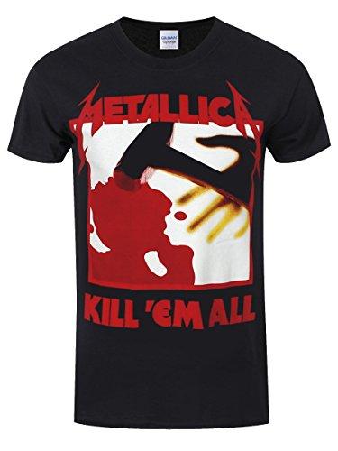 Unbekannt Metallica Kill 'Em All T-Shirt Schwarz Schwarz