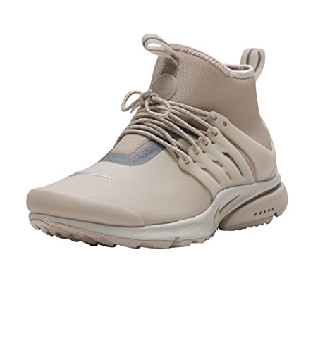 Nike - Wmns Air Presto Mid Utility String - 859527200 - Colore: Beige-Grigio - Taglia: 38.0 - Pesci Asciutti