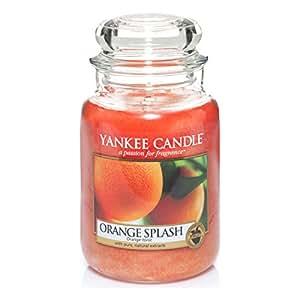 yankee candle 1304315e orange splash grosses jar. Black Bedroom Furniture Sets. Home Design Ideas