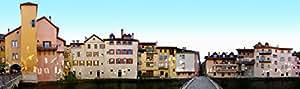 Annecy France magnétique (12x 3,5cm) Quai de l 'eveche panoramique Street Line t3695p2398