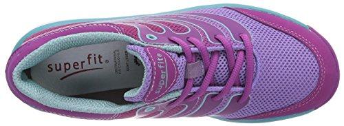 Superfit LUMIS 400412, Mädchen Sneakers Pink (DAHLIA 73)