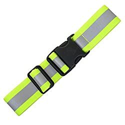 "Extension For The Illumiseen Led Reflective Belt - 3 Colors (Neon Green, Blue & Red) - Adds A Max. Of 19.6"" Or 49.7 Cm To Your Hi-viz Belt"
