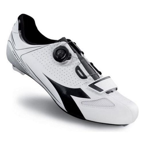 Diadora D170218, Scarpe da Ciclismo Unisex Adulto, Bianco (Bianco (White/Black 3051)), 42 EU
