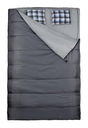 Happy People 2 Personen Steppdeckenschlafsack, dunkel grau, 220×150, 79010 - 2