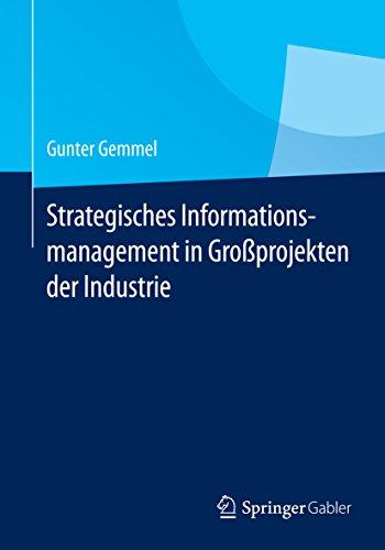 Strategisches Informationsmanagement in Großprojekten der Industrie