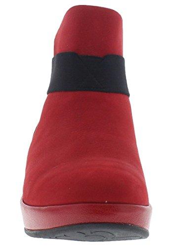 FLY London Damen Beta660fly Kurzschaft Stiefel Rot