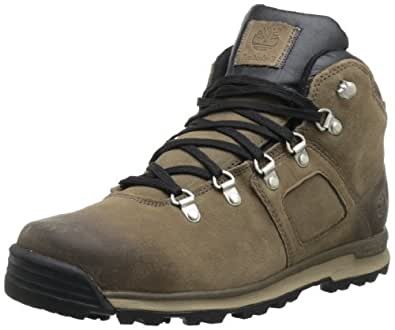 Timberland Mens GT Scramble FTP_EK Mid Leather WP Boots Brown (Light Brown) Size: 41