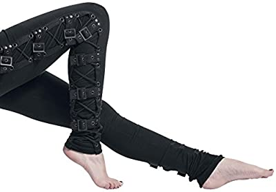 Gothicana by EMP Black Rock Leggings Leggings black