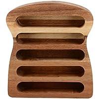Creative Tops Toast Rack, Holz, braun, 17x 15x 4cm