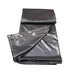 Rivestimento in plastica in PVC con tela cerata per protezione solare in tela cerata nera