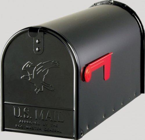 US Mailbox aus Stahl in schwarz - 3