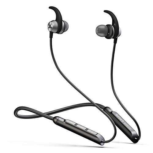 Boult Audio ProBass SpireX Neckband in-Ear Wireless Bluetooth Earphones with Mic IPX5 Sweatproof Deep Bass Headphones with Long Battery Life...
