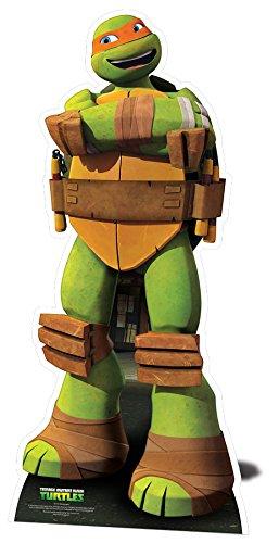 Star Cutouts-stsc772-Figur Riesen-Michelangelo-Schildkröte Ninja-143cm