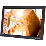 Docooler Andoer 15.4 Inch 1280 * 800 HD Digital Photo Frame Electronic Picture Album 1080P Video Music Player with Motion Sensor Scroll Subtitle
