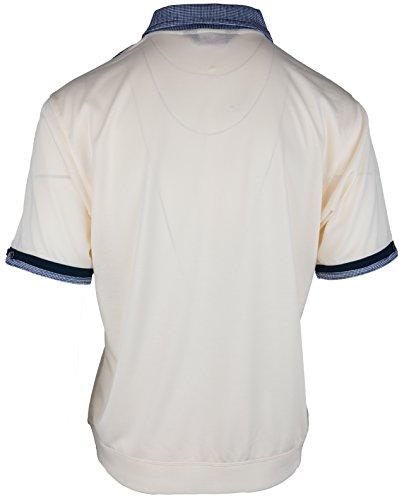 Polohemd Poloshirt für Herren von SOUNON, verschiedene Farben - Größe M bis 5XL Beige (M7)