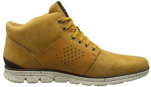 Timberland Herren Bradstreet Half Cab Chukka Boots Braun (grano)