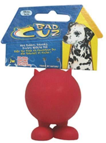 J.W. JW JW43166 Bad Cuz Small, Gummiball für Hunde, S -
