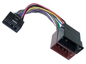 Adaptateur ®-universe câble adaptateur dIN iSO pour autoradio avec fiche 16 broches câble f jVC kD-aDV-kD-aV
