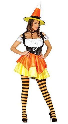 Imagen de disfraz de bruja caramelo para mujer  l