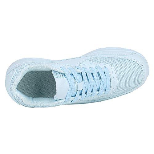 Optik Damen Camouflage Schuhe Hellblau Herren Stiefelparadies Metallic Neon Glitzer Sportschuhe Übergrößen Leder Flandell Sneaker Laufschuhe Unisex 0qnc7nZE