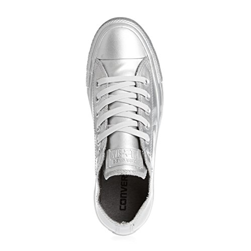 Converse Shoes - Converse All Star Lo Shoes - Pure Silver Silber