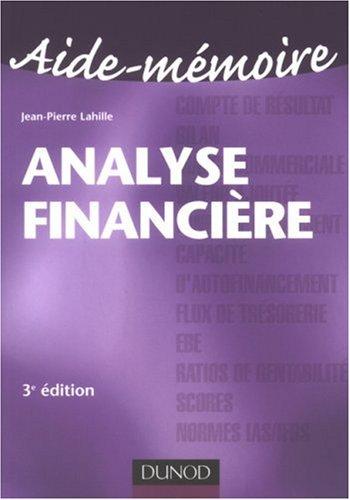 Analyse financire