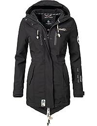 Marikoo Mountain Damen Softshell-Jacke Outdoorjacke Zimtzicke (vegan hergestellt) 8 Farben XS-3XL