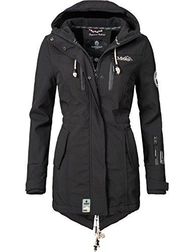 Marikoo Mountain Damen Softshell-Jacke Outdoorjacke Zimtzicke 20 Farben XS-XXL