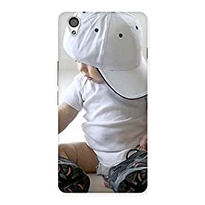 Delighted Hip Hop Cute Boy Back Case Cover for OnePlus X