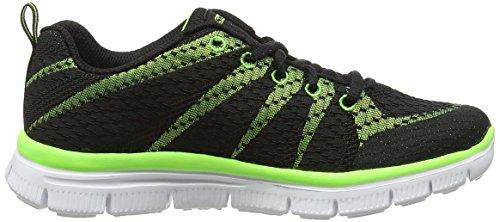 Skechers - Flex Advantagepaybacks, Scarpe da ginnastica Bambino Verde (Grün (OLLM))
