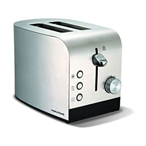 Morphy Richards 44208 Equip 2 Slice Toaster - Stainless Steel