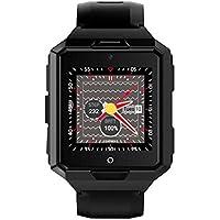 ZfgG Intelligentes Uhr-Armband-Wasserdichte intelligente Uhr-Android-System nur mit WiFi GPS-Herzfrequenz-Kamera-Bildschirm- intelligente Uhr mit SIM-Karten-Schlitz Perfekter Wohnassistent