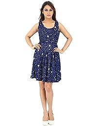 Franclo Women's Frock Dress (Best fit 30-32 bust)